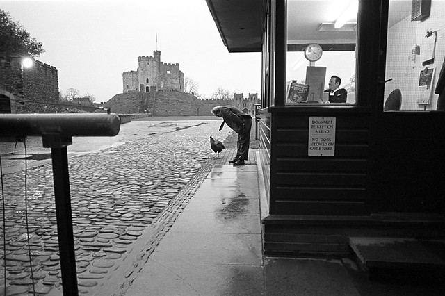 Cardiff Castle - Fantastic Black and White Street Photographs