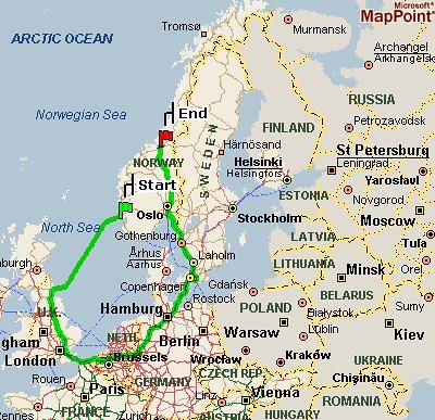 Landkarte Norwegen Joachim Haydecker Flickr