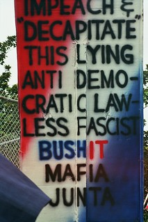 Anti-war sign.
