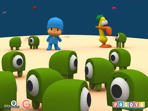 my new Pocoyo wallpaper