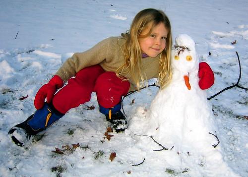 Best snowman ever!