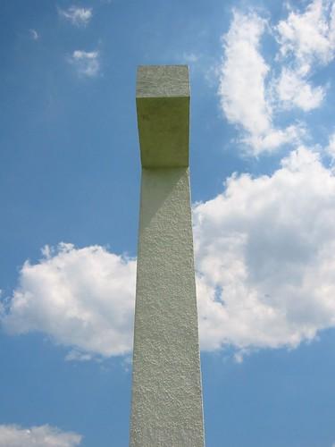 sky clouds island us cross unitedstates religion maryland christian crucifix potomac christianity potomacriver chesapeake worldislandinfocom stclementsisland saintclementsisland