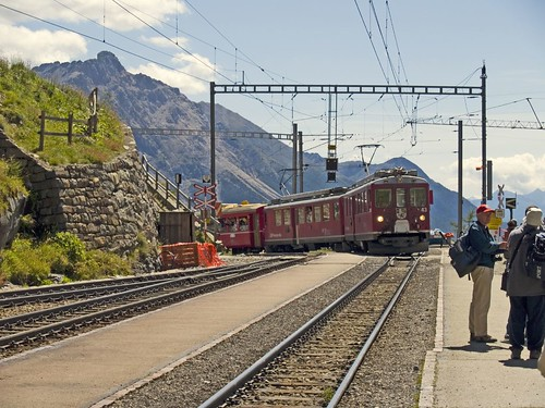 Bernina Express trip