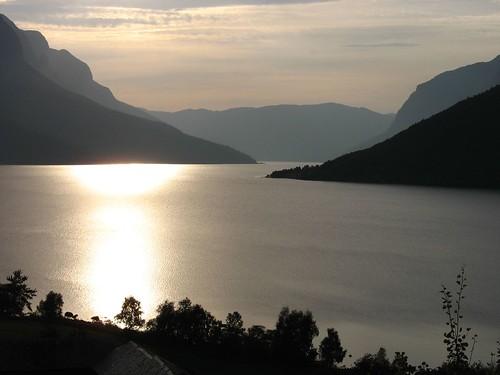 Sognefjord,Bergen - Norvegia