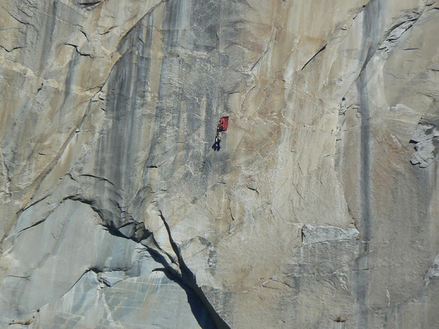 Climbers on El Capitan | Flickr - Photo Sharing!: http://www.flickr.com/photos/crumj/223378356/