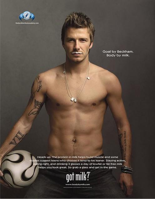 Beckham Got Milk?