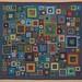 """Shantytown"" - Kaffe Fassett quilt by Kelly Fletcher Needlework Design"