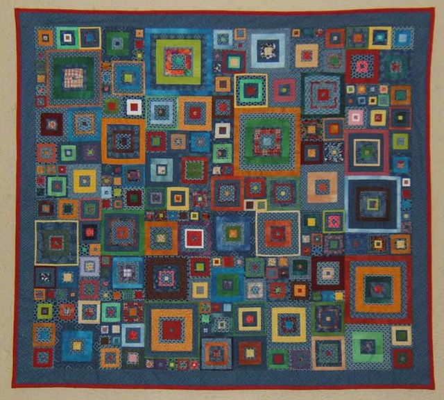 Quilt Pattern With Different Size Blocks :