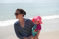 OBX 2016 - Willa-Audrey-On beach