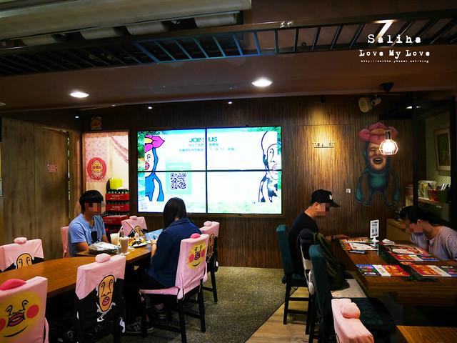 台北東區主題餐廳醜比頭的秘密花園輕食咖啡屁桃 (22)