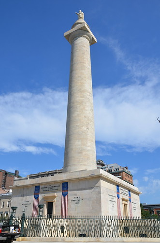 Baltimore Washington Monument Aug 15 3