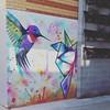 Mooching. Part 2. Phew. 21st birthday present bought!  #braddon #Canberra #cbr #visitcanberra #streetart #hummingbird