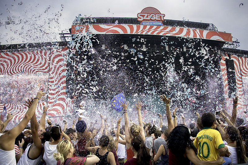 Confetti Party Sziget Festival