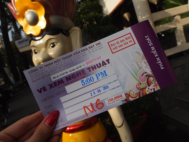 P6269816 ロンヴァン水上人形劇 ベトナム vietnam ホーチミン