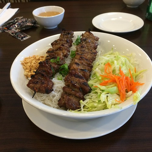 Beef vermicelli #yegfood