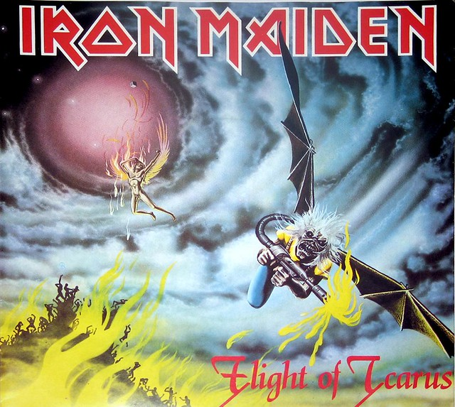 IRON MAIDEN Flight Icarus
