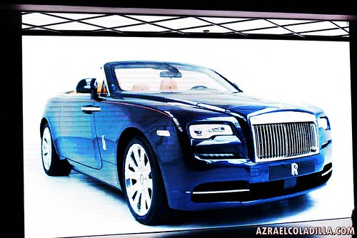 Rolls Royce Dawn car launching