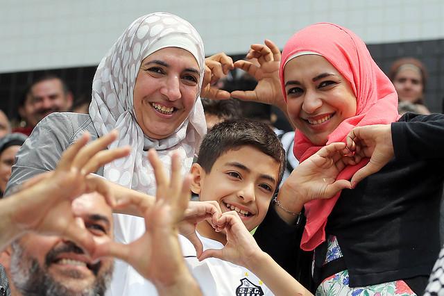 Visita dos Refugiados da Síria