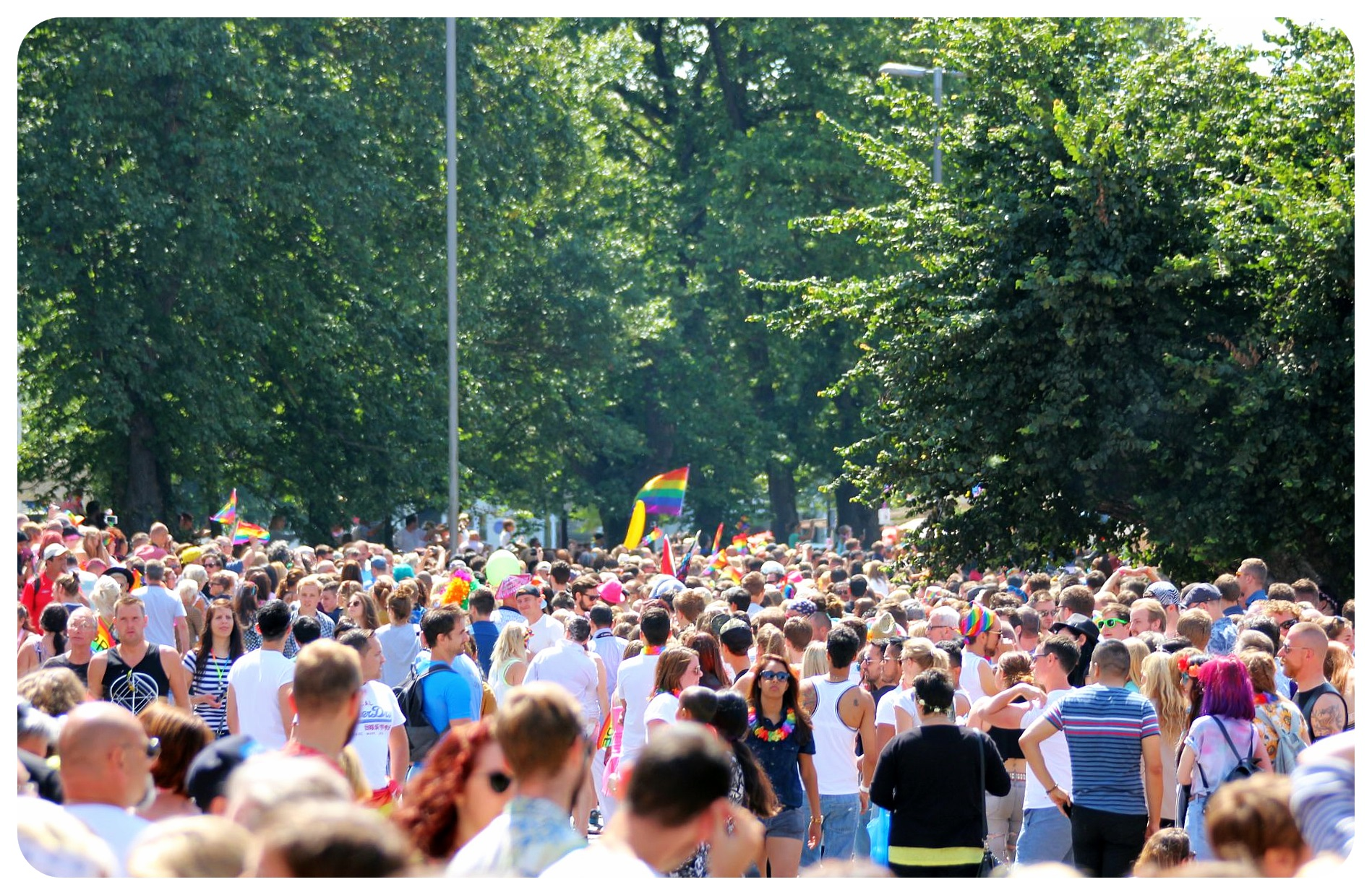 brighton pride crowds