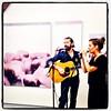 JP Nataf & Diane Sorel - Exposition Philippe Herard by lezard_graphic
