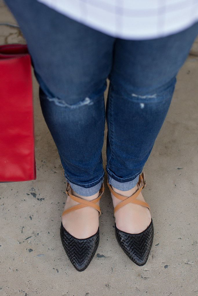 Head to Toe Chic, black flats, fall outfit idea