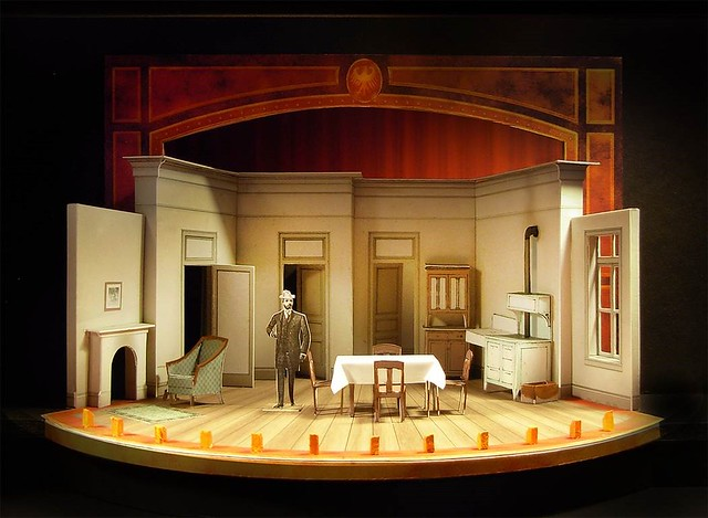 Scenic and Costume Design for Steve Martin's THE UNDERPANTS