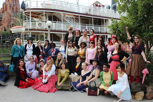 Disneybound women's group shot