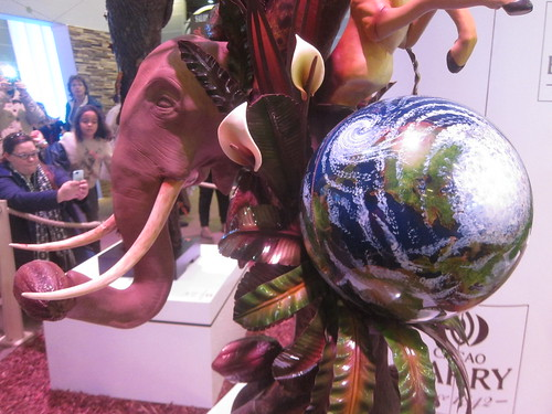 Chocolate sculpture - Salon du Chocolat