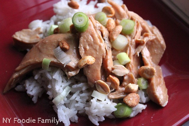 Crockpot Thai Chicken