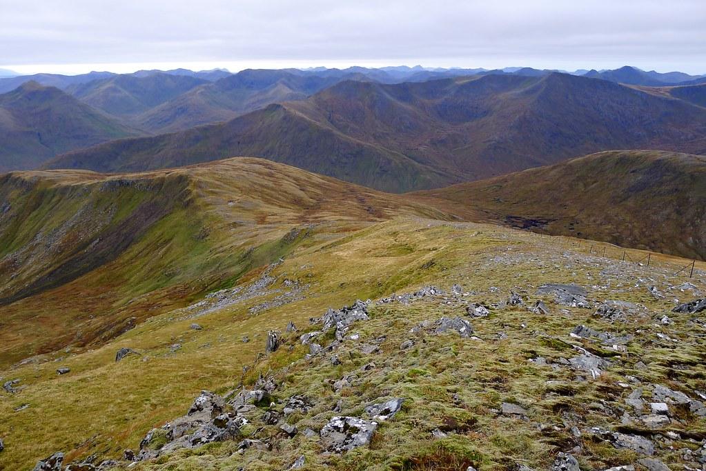 The south ridge of Sgurr nan Ceathramhnan