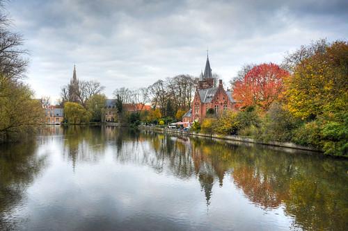 Minnewater Brugge Belgium