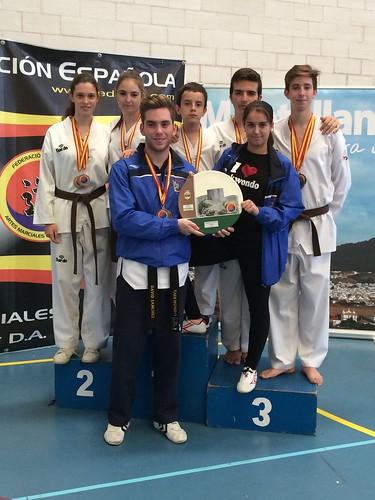 Pako´s Gym en el campeonato de España de Semi-Contac y Formas de Montellano