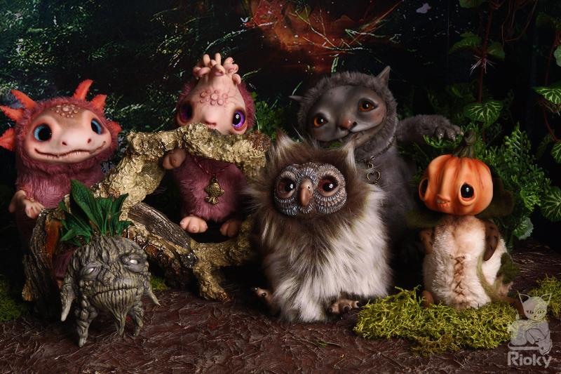 Rioky's creatures