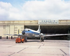 Convair 600 N94294 roll out San Diego 12May65 200-65