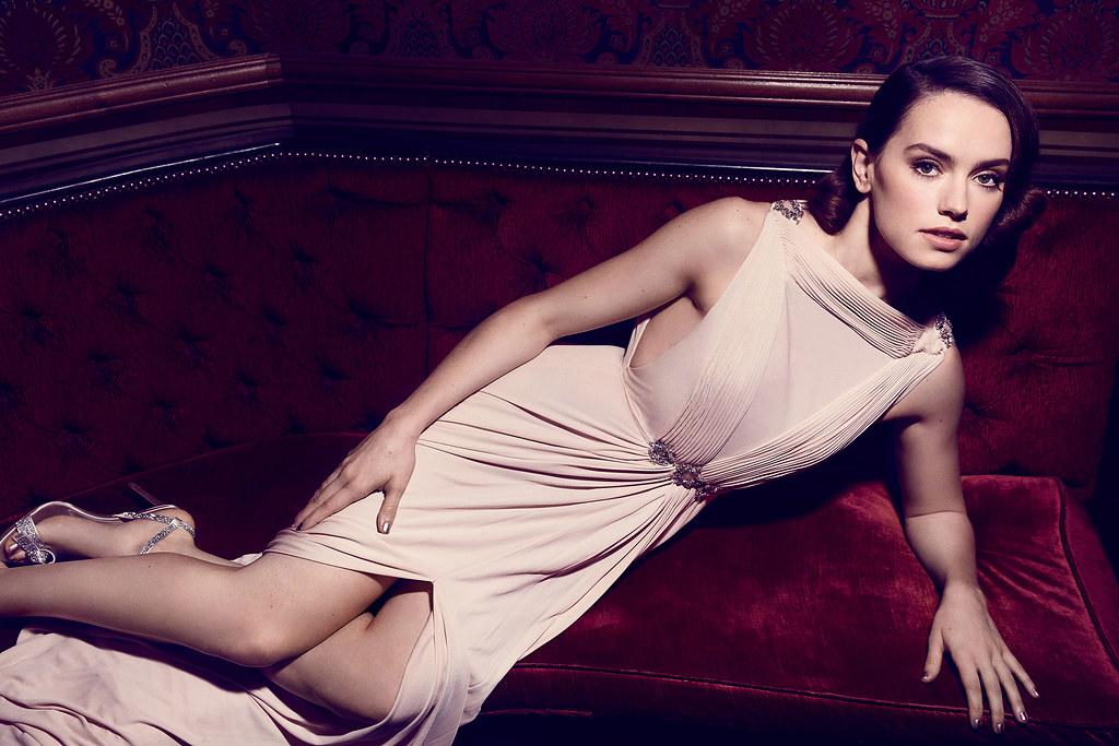 Дэйзи Ридли — Фотосессия для «The Hollywood Reporter» 2015 – 5