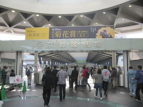 京都競馬場のステーションゲート