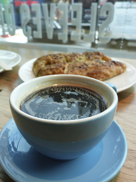 a nice cup of coffee