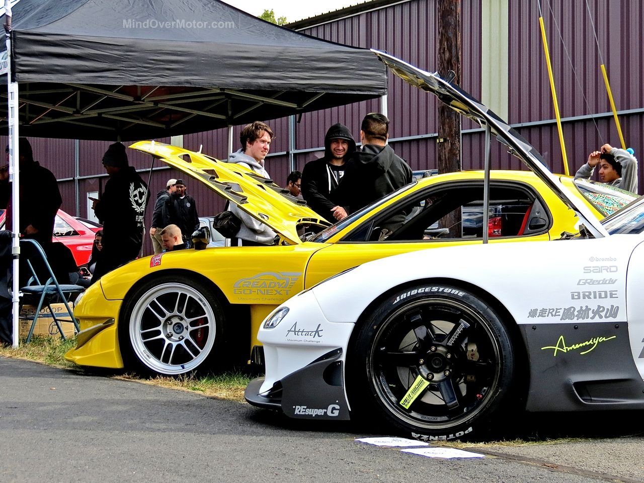 Mazda FD RX7s First Class Fitment