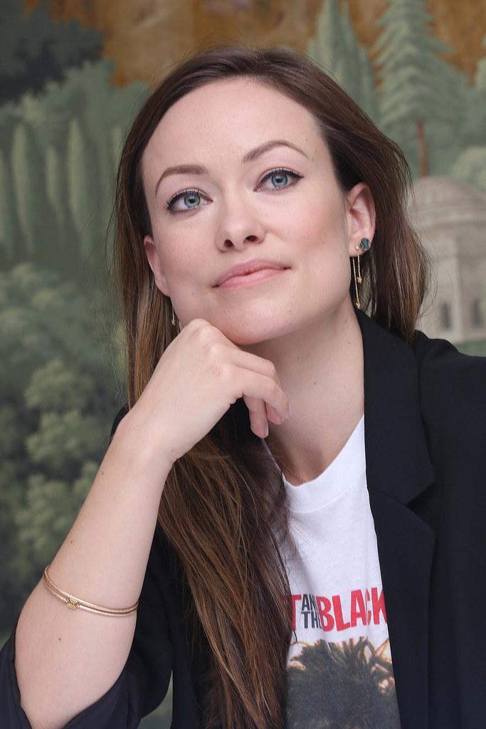 Оливия Уайлд — Пресс-конференция «Винил» 2015 – 24
