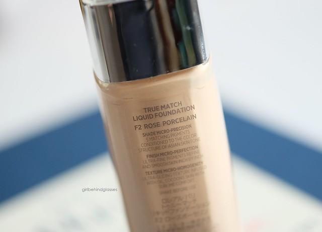 L'Oreal True Match Foundation2
