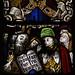 Ludlow, Shropshire, St. Laurence's, chancel, commandment windows, # 7