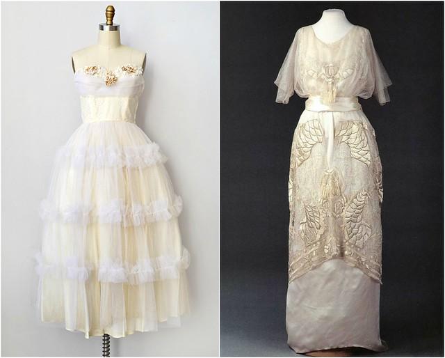 Robes de mariée anciennes