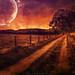 moon over sonsbeck by radonracer