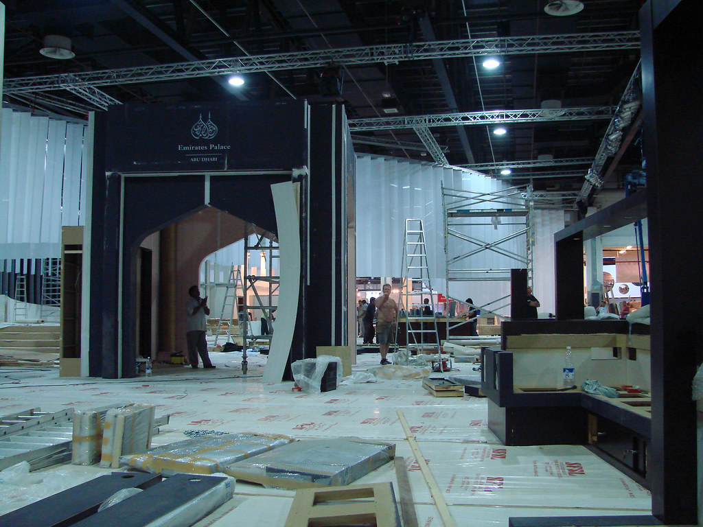 Exhibition Stand Design Abu Dhabi : Maple expo execute exhibition stand in isam abu dhabi dubai
