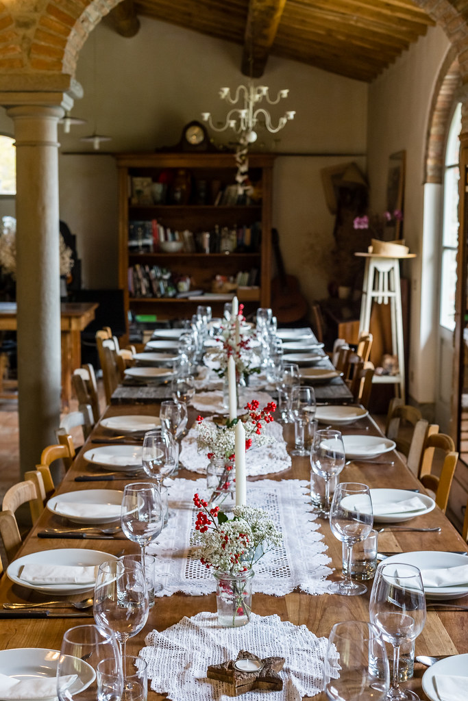 Tuscan Christmas Gathering