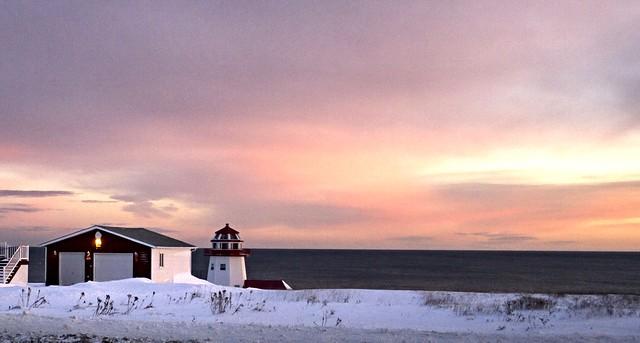 Christmas Time Sunset
