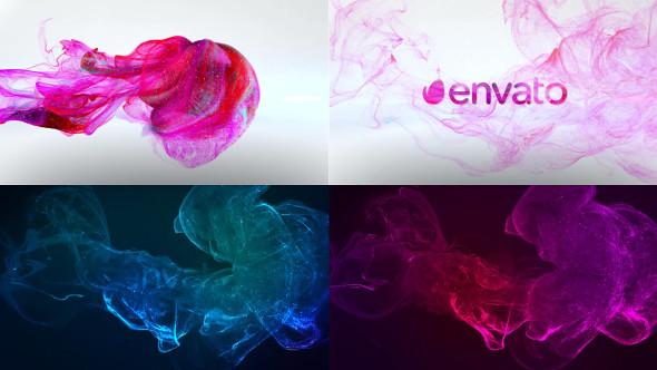 Smoke Logo - Premiere Pro - 50