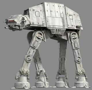 【官圖更新&販售資訊】《星際大戰》組裝模型系列 – 反抗軍的噩夢!走獸「AT-AT」