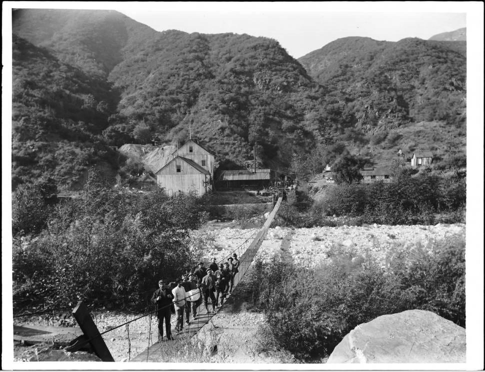 Kelsey Mine, San Gabriel Canyon