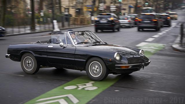 Alfa Romeo - la traversee de Paris 2017